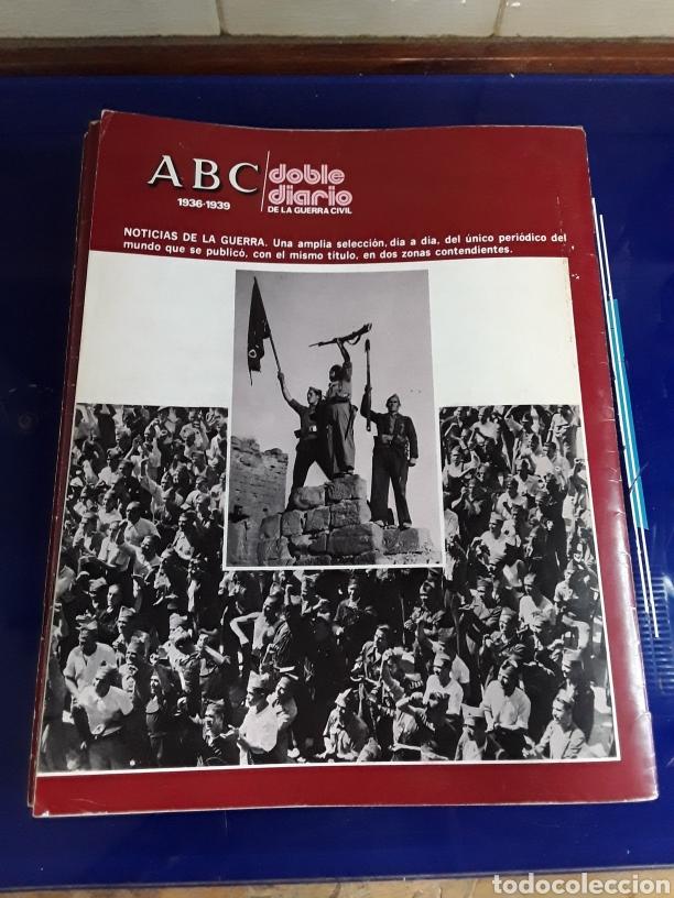 Libros de segunda mano: 16 antiguas revistas ABC doble diario de la guerra civil 1936-1939 - Foto 3 - 201658706