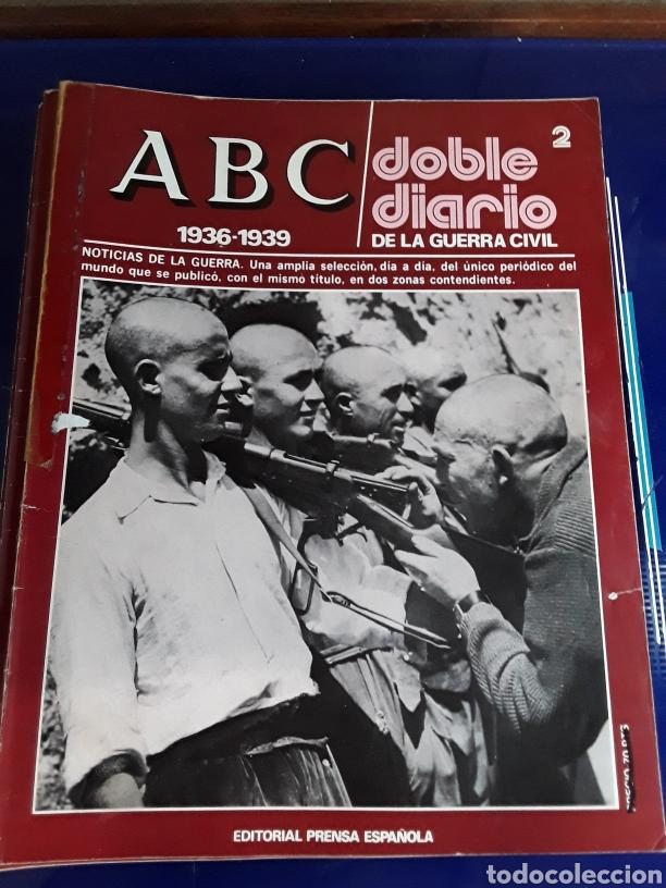 Libros de segunda mano: 16 antiguas revistas ABC doble diario de la guerra civil 1936-1939 - Foto 4 - 201658706