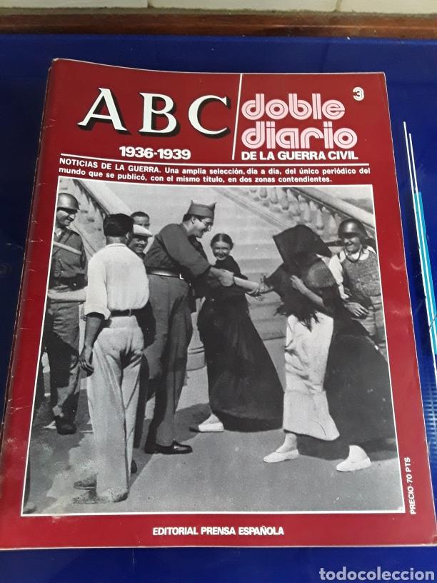 Libros de segunda mano: 16 antiguas revistas ABC doble diario de la guerra civil 1936-1939 - Foto 5 - 201658706