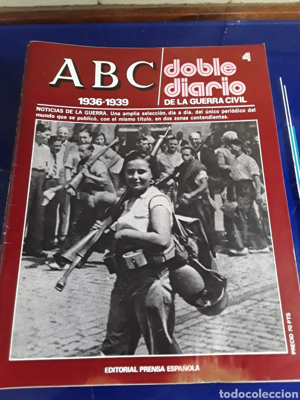 Libros de segunda mano: 16 antiguas revistas ABC doble diario de la guerra civil 1936-1939 - Foto 6 - 201658706