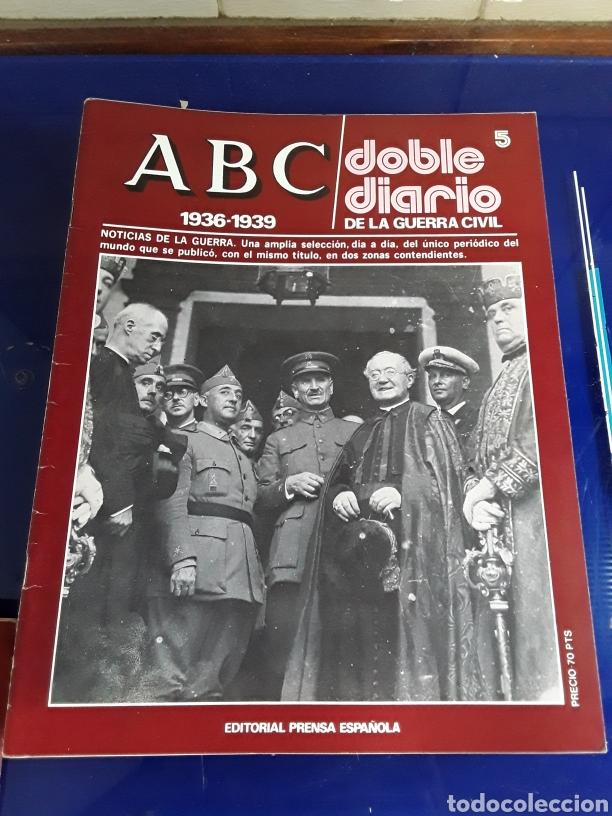 Libros de segunda mano: 16 antiguas revistas ABC doble diario de la guerra civil 1936-1939 - Foto 7 - 201658706