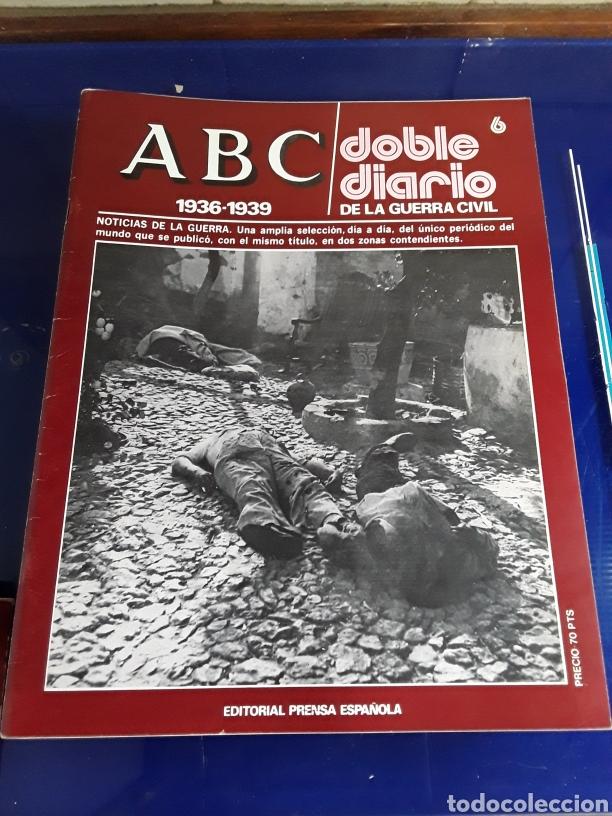 Libros de segunda mano: 16 antiguas revistas ABC doble diario de la guerra civil 1936-1939 - Foto 8 - 201658706
