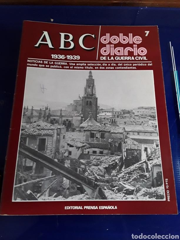 Libros de segunda mano: 16 antiguas revistas ABC doble diario de la guerra civil 1936-1939 - Foto 9 - 201658706