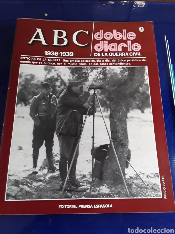Libros de segunda mano: 16 antiguas revistas ABC doble diario de la guerra civil 1936-1939 - Foto 10 - 201658706