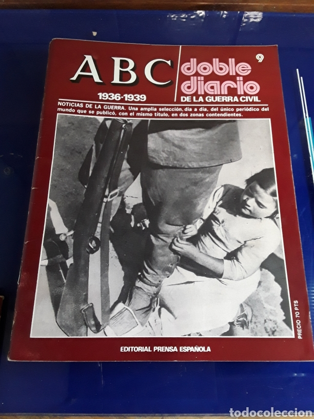 Libros de segunda mano: 16 antiguas revistas ABC doble diario de la guerra civil 1936-1939 - Foto 11 - 201658706