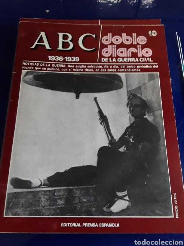 Libros de segunda mano: 16 antiguas revistas ABC doble diario de la guerra civil 1936-1939 - Foto 12 - 201658706