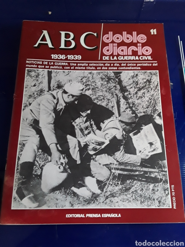 Libros de segunda mano: 16 antiguas revistas ABC doble diario de la guerra civil 1936-1939 - Foto 13 - 201658706