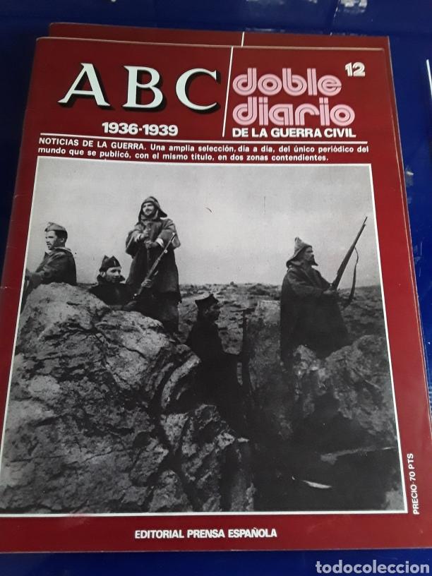 Libros de segunda mano: 16 antiguas revistas ABC doble diario de la guerra civil 1936-1939 - Foto 14 - 201658706