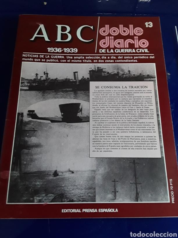 Libros de segunda mano: 16 antiguas revistas ABC doble diario de la guerra civil 1936-1939 - Foto 15 - 201658706
