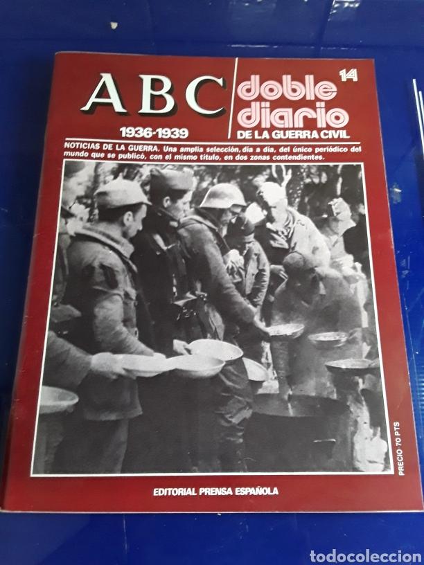 Libros de segunda mano: 16 antiguas revistas ABC doble diario de la guerra civil 1936-1939 - Foto 16 - 201658706