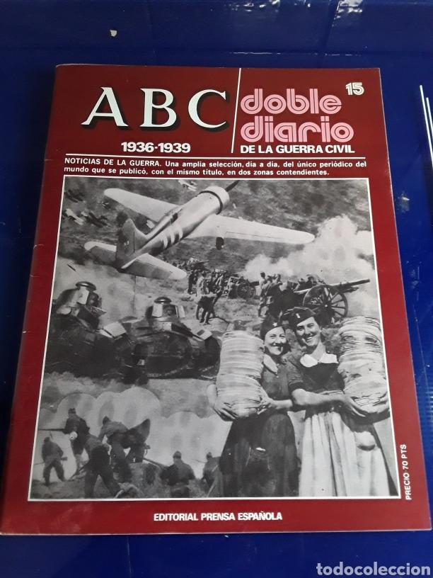 Libros de segunda mano: 16 antiguas revistas ABC doble diario de la guerra civil 1936-1939 - Foto 17 - 201658706