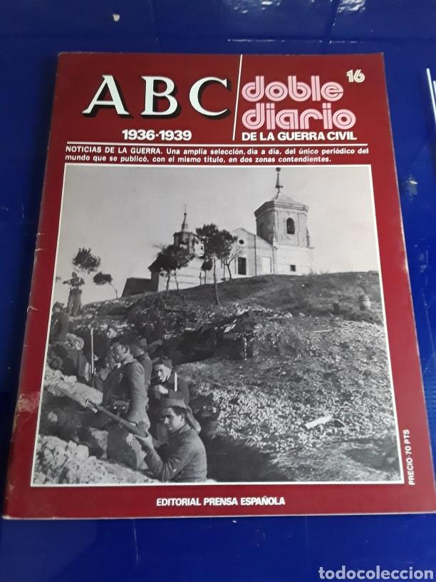 Libros de segunda mano: 16 antiguas revistas ABC doble diario de la guerra civil 1936-1939 - Foto 18 - 201658706