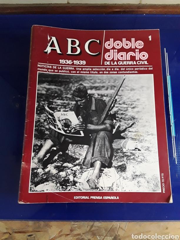 16 ANTIGUAS REVISTAS ABC DOBLE DIARIO DE LA GUERRA CIVIL 1936-1939 (Libros de Segunda Mano - Historia - Guerra Civil Española)