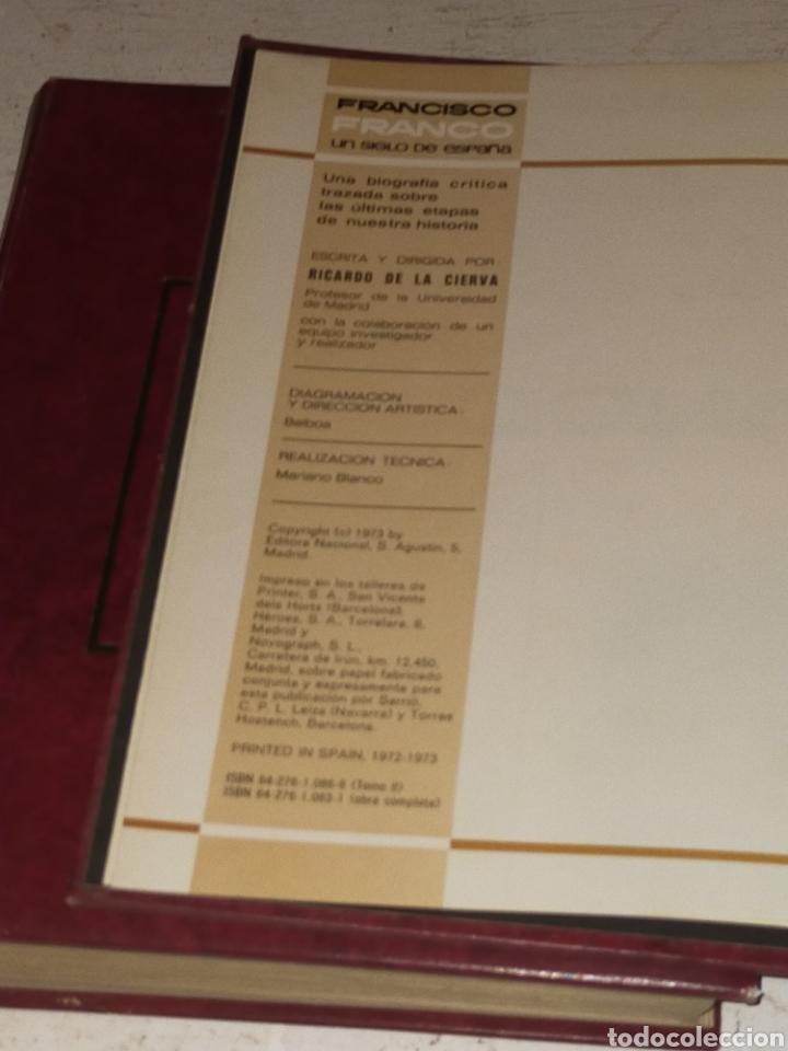 Libros de segunda mano: UN SIGLO DE ESPAÑA FRANCISCO FRANCO RICARDO DE LA CIERVA - Foto 2 - 203459128