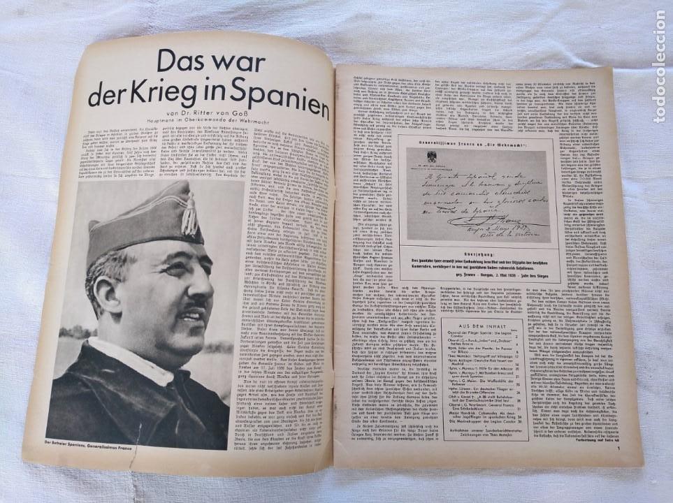Libros de segunda mano: GUERRA CIVIL. LEGIÓN CÓNDOR. WIR KÄMPFEN IN SPANIEN. - Foto 2 - 204058930