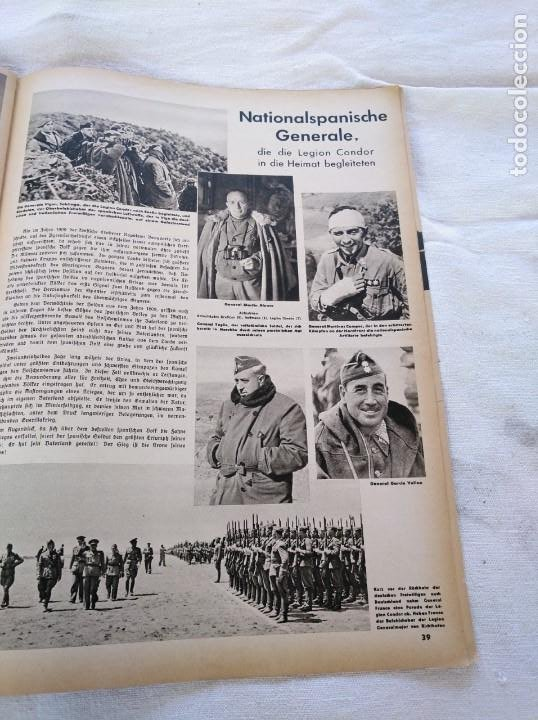 Libros de segunda mano: GUERRA CIVIL. LEGIÓN CÓNDOR. WIR KÄMPFEN IN SPANIEN. - Foto 14 - 204058930