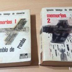 Libros de segunda mano: MEMORIAS 1 Y 2 LA REPUBLICA Y LA GUERRA DE ESPAÑA - IGNACIO HIDALGO DE CISNEROS / S304. Lote 205065565