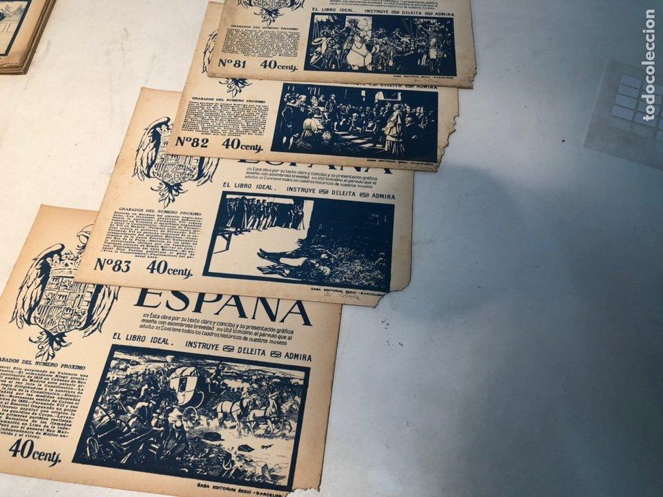 Libros de segunda mano: LOTE DE PORTFOLIO DE HISTORIA DE ESPAÑA, CASA EDITORIAL SEGUI. Nº2 AL Nº95. - Foto 5 - 205293526