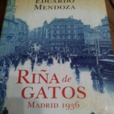 Libros de segunda mano: RIÑAS DE GATOS , MADRID 1936. Lote 205303300