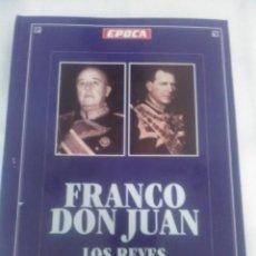 Libros de segunda mano: FRANCO, DON JUAN, LOS REYES SIN CORONA. R. DE LA CIERVA. ÉPOCA.. Lote 205800701