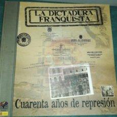 Libros de segunda mano: SANTIAGO VEGA SOMBRÍA , LA DICTADURA FRANQUISTA , CUARENTA AÑOS DE REPRESIÓN. Lote 206400051