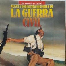 Libros de segunda mano: LA GUERRA CIVIL POR RICARDO DE LA CIERVA. Lote 206532122
