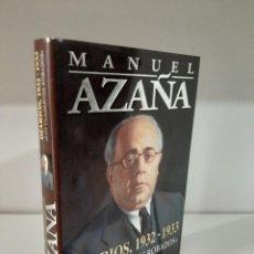Libros de segunda mano: MANUEL AZAÑA, 1932-1933, LOS CUADERNOS ROBADOS, ENSAYO CRITICO /CRITICAL ESSAY, GRIJALBO, 1997. Lote 207951383