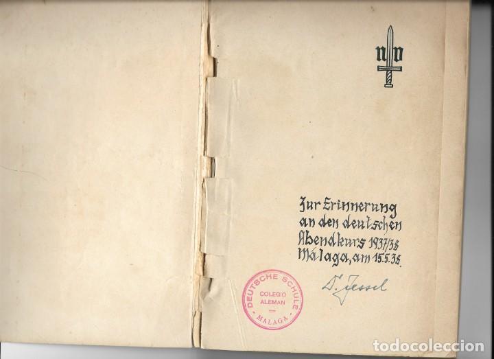Libros de segunda mano: Das Rotbuch uber spanien, Berlín 1937 (La España Roja) del Colegio Alemán de Málaga - Foto 2 - 208180436