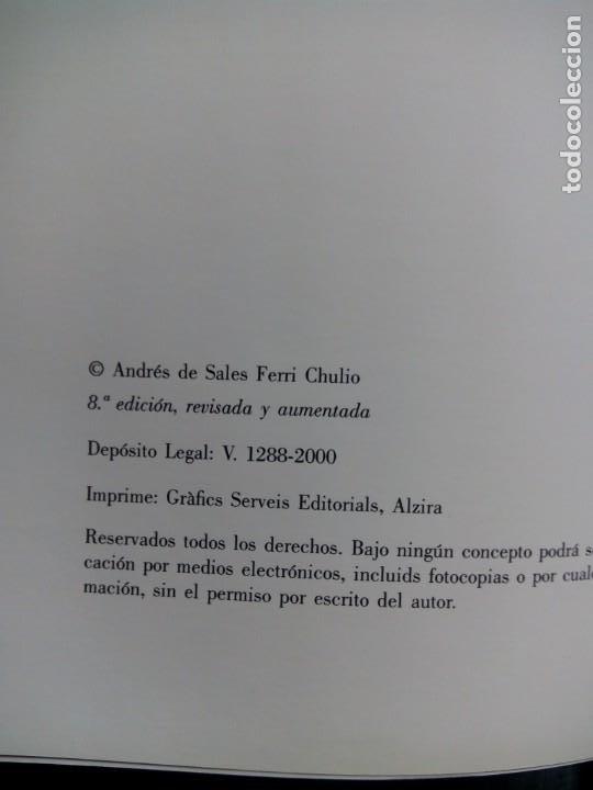 Libros de segunda mano: ESCULTURA PATRONAL ALICANTINA DESTRUIDA EN 1936. ANDRÉS DE SALES FERRI CHULIO. ESPAÑA 2000. - Foto 3 - 209066971