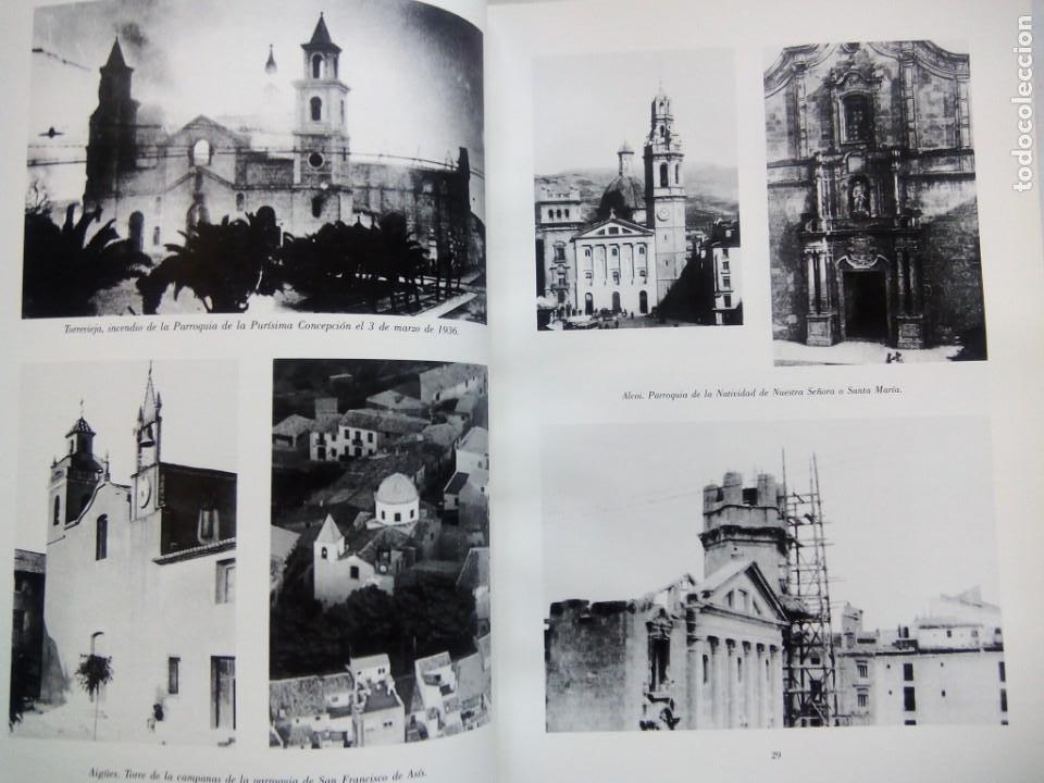 Libros de segunda mano: ESCULTURA PATRONAL ALICANTINA DESTRUIDA EN 1936. ANDRÉS DE SALES FERRI CHULIO. ESPAÑA 2000. - Foto 6 - 209066971
