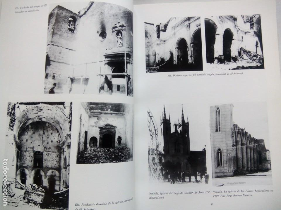 Libros de segunda mano: ESCULTURA PATRONAL ALICANTINA DESTRUIDA EN 1936. ANDRÉS DE SALES FERRI CHULIO. ESPAÑA 2000. - Foto 7 - 209066971