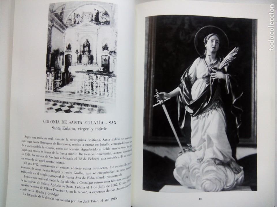 Libros de segunda mano: ESCULTURA PATRONAL ALICANTINA DESTRUIDA EN 1936. ANDRÉS DE SALES FERRI CHULIO. ESPAÑA 2000. - Foto 8 - 209066971