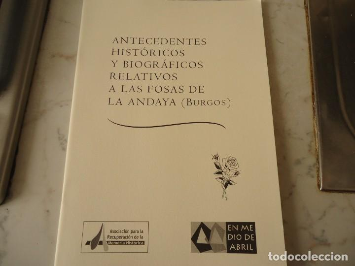 LA FOSA DE LA ANDAYA (Libros de Segunda Mano - Historia - Guerra Civil Española)