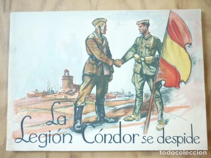 LA LEGIÓN CÓNDOR SE DESPIDE (Libros de Segunda Mano - Historia - Guerra Civil Española)