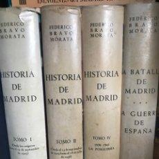 Libros de segunda mano: HISTORIA DE MADRID POR FEDERICO BRAVO MORATA. Lote 212523277