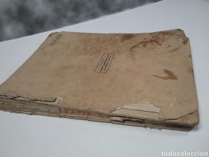 Libros de segunda mano: Topografía y tiro Roque pro Alonso comandante de artillería - Foto 2 - 212535877