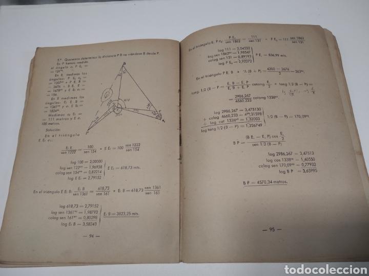 Libros de segunda mano: Topografía y tiro Roque pro Alonso comandante de artillería - Foto 3 - 212535877