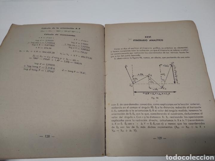 Libros de segunda mano: Topografía y tiro Roque pro Alonso comandante de artillería - Foto 4 - 212535877