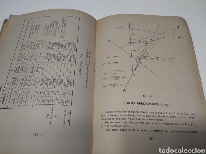 Libros de segunda mano: Topografía y tiro Roque pro Alonso comandante de artillería - Foto 5 - 212535877