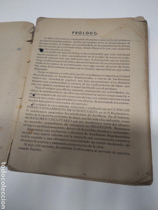 Libros de segunda mano: Topografía y tiro Roque pro Alonso comandante de artillería - Foto 6 - 212535877