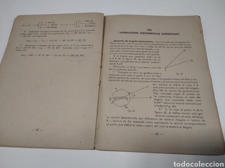 Libros de segunda mano: Topografía y tiro Roque pro Alonso comandante de artillería - Foto 7 - 212535877