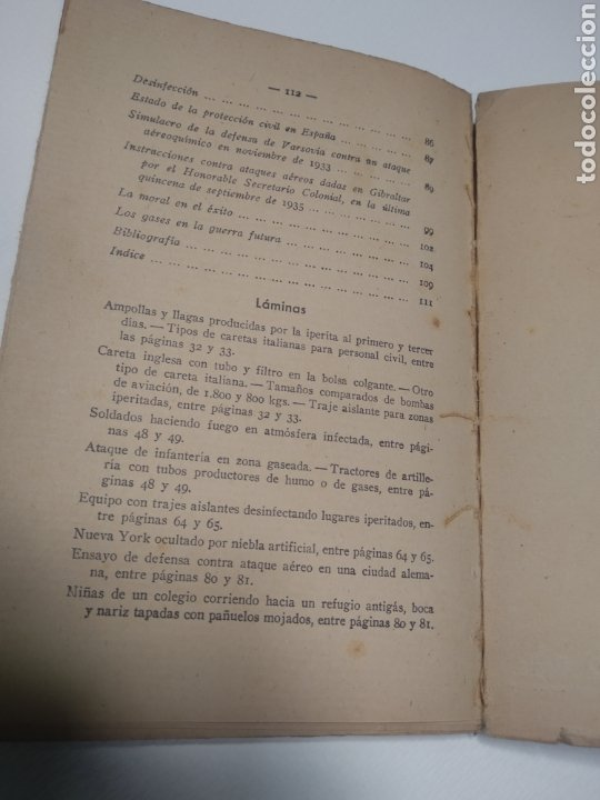 Libros de segunda mano: Gases de guerra julio Cuera Calero Mariano Ferrer Bravo - Foto 4 - 212562591