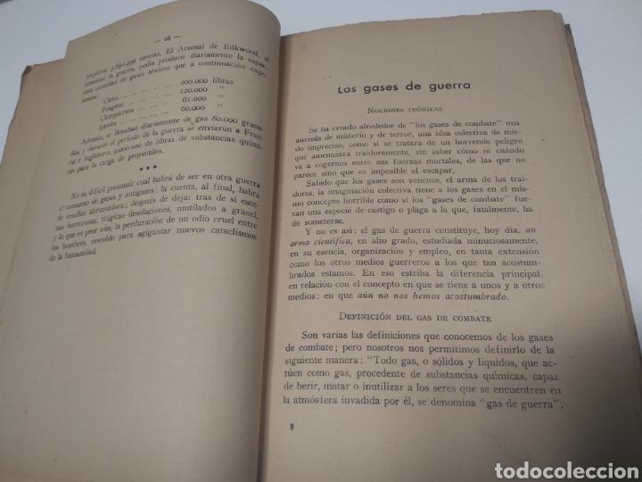 Libros de segunda mano: Gases de guerra julio Cuera Calero Mariano Ferrer Bravo - Foto 5 - 212562591