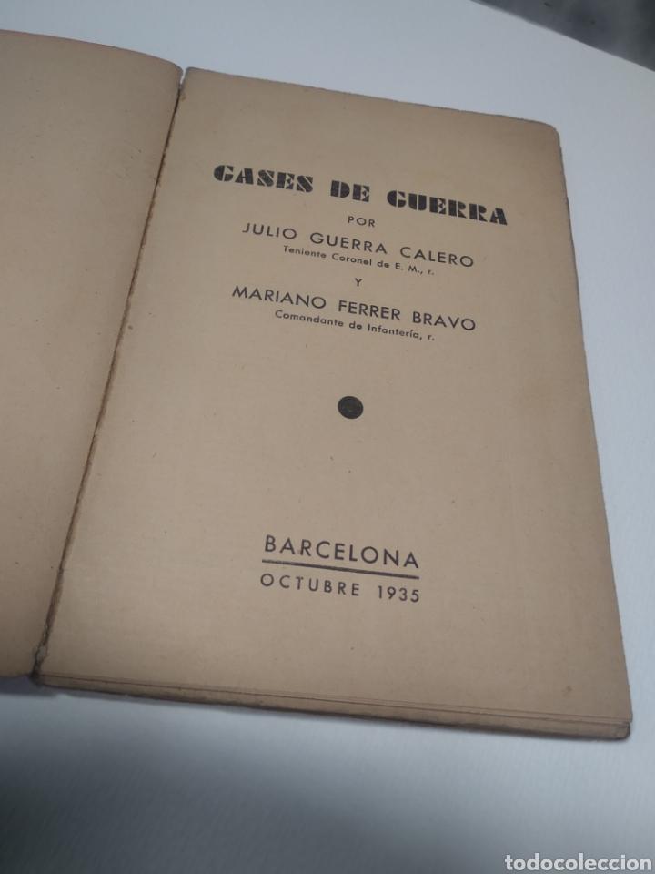 Libros de segunda mano: Gases de guerra julio Cuera Calero Mariano Ferrer Bravo - Foto 6 - 212562591