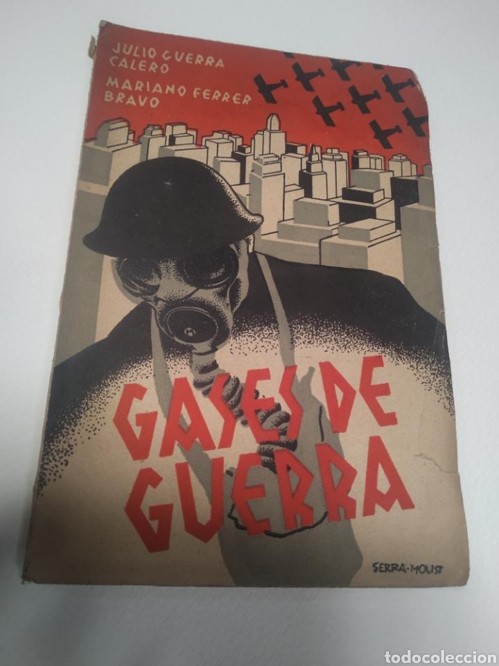 Libros de segunda mano: Gases de guerra julio Cuera Calero Mariano Ferrer Bravo - Foto 9 - 212562591