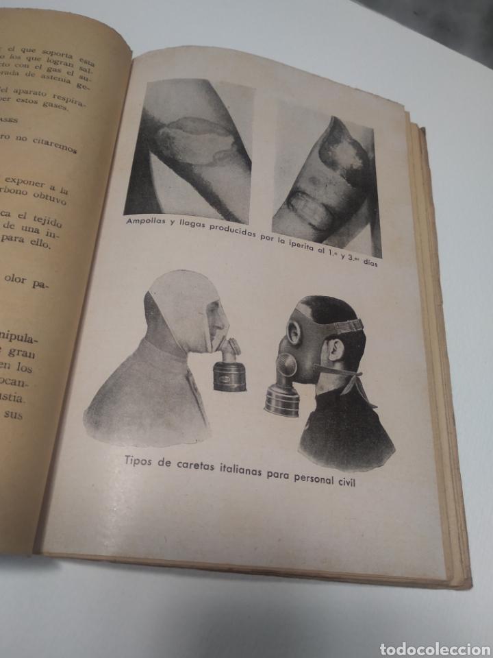 GASES DE GUERRA JULIO CUERA CALERO MARIANO FERRER BRAVO (Libros de Segunda Mano - Historia - Guerra Civil Española)