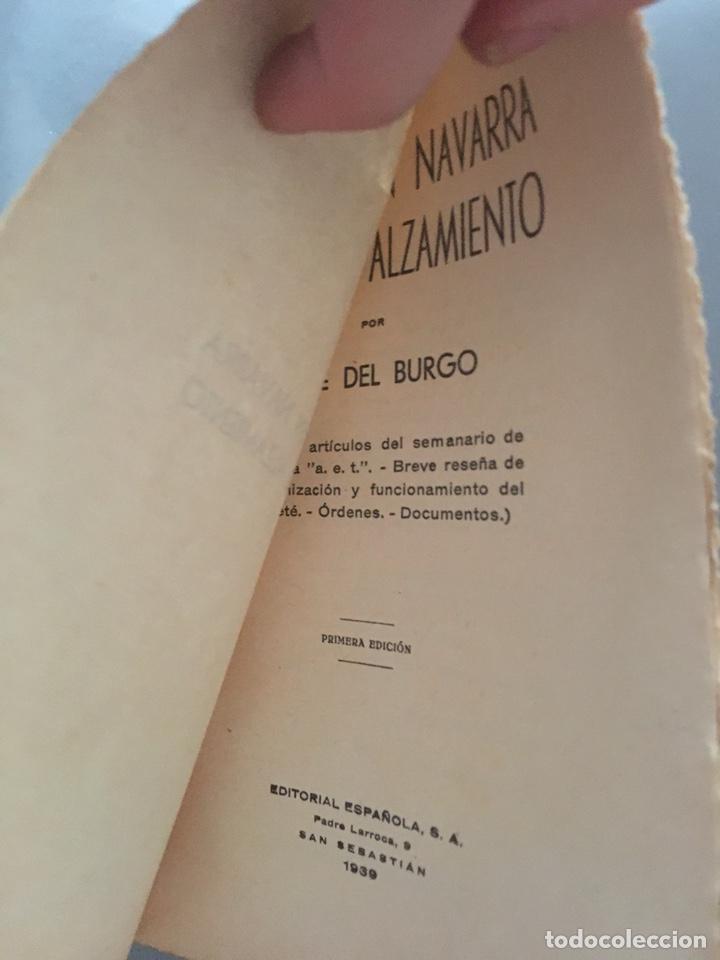 Libros de segunda mano: REQUETES EN NAVARRA ANTES DEL ALZAMIENTO- Jaime del Burgo - 1939 - INTONSO - 188p. - Foto 3 - 212723006
