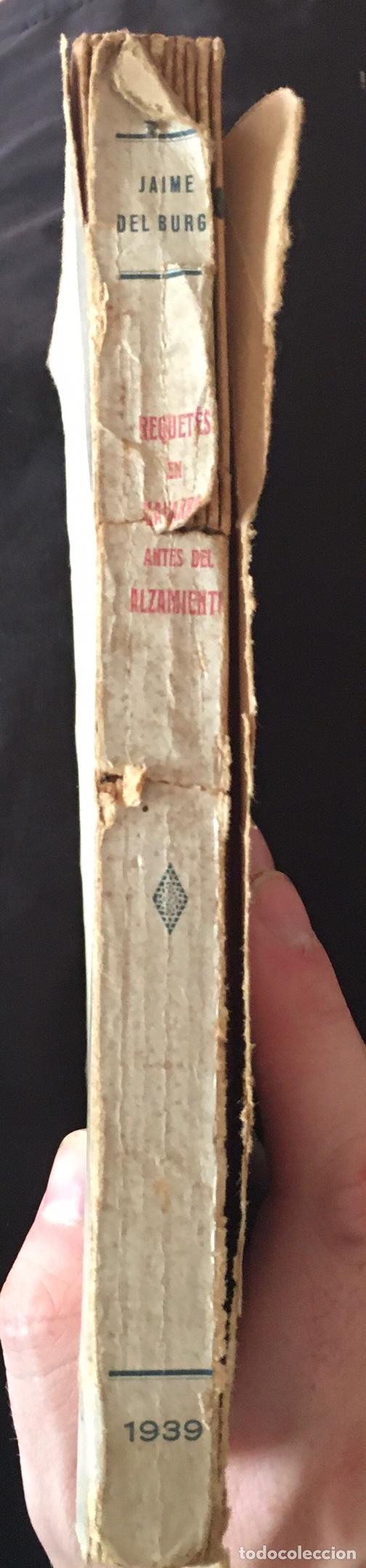 Libros de segunda mano: REQUETES EN NAVARRA ANTES DEL ALZAMIENTO- Jaime del Burgo - 1939 - INTONSO - 188p. - Foto 4 - 212723006
