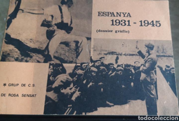 ESPAÑA 1931 1936 (DOSSIER GRÀFIC) (Libros de Segunda Mano - Historia - Guerra Civil Española)