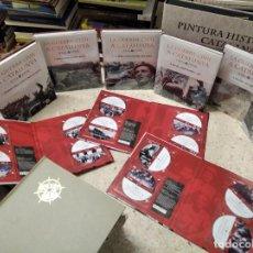 Libros de segunda mano: LA GUERRA CIVIL A CATALUNYA ( 1936 - 1939 ) . 6 TOMS ( COMPLET) + 12 DVD'S . EDICIONS 62 . 2006. Lote 213746053